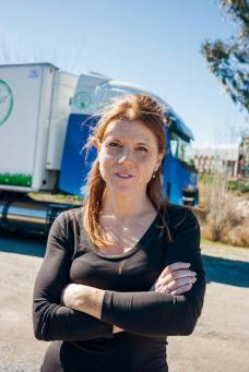 Camionera Eva Maria Farran