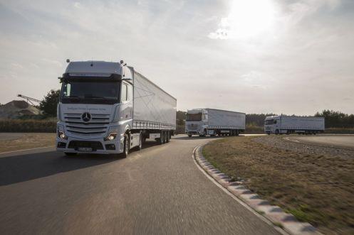 Weltpremiere neuer Mercedes-Benz Actros, 5. – 6. September 2018, Berlin/Linthe // World premiere new Mercedes-Benz Actros, 5-6 September 2018, Berlin/Linthe, Germany