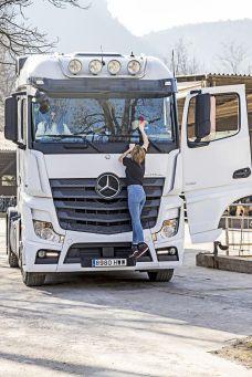 Camionera Cinta Larrosa