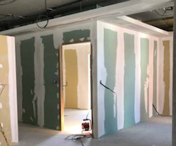 Cloison intérieur prêt à peindre.