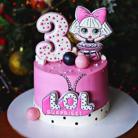 Торты с куклами лол на заказ | Заказать торт LOL в Киев