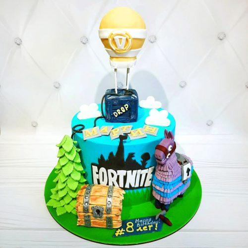 Торт фортнайт заказать в Киеве   Торты на заказ в стиле ...
