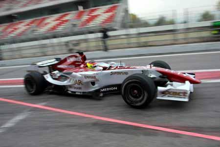 Roldan esta contento con su debut en Formula1
