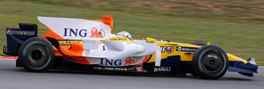 Alonso ha marcado el tiempo más rápido en Montmeló