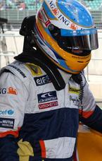 Alonso termoina el GP de Gran Bretaña un poco decepcionado
