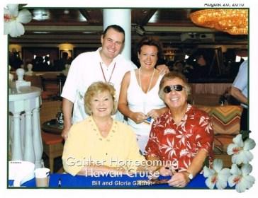2010 Hawaii Gloria and Bill Gaither Susanna and Christian Buechel