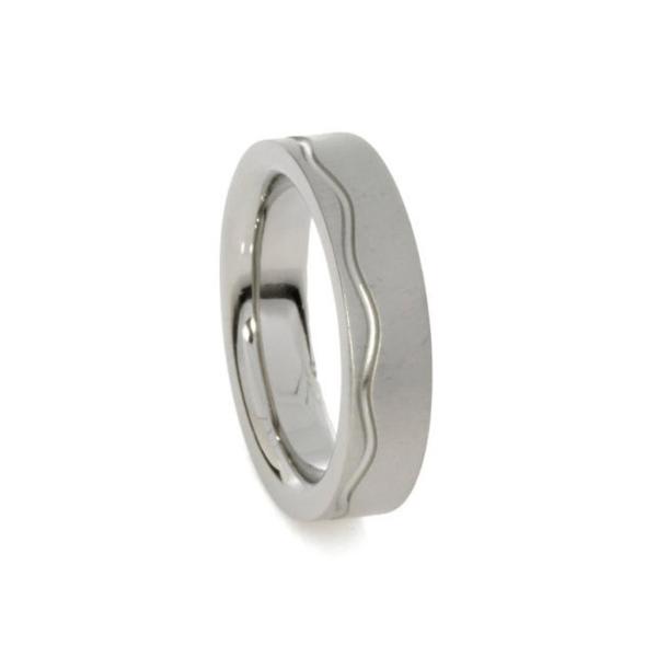 fedina in titanio anello in titanio