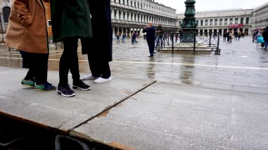 Platforms in Piazza San Marco