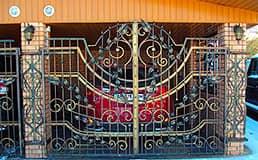 Ковані гаражні двері купити, ціна, фото в м. Івано ...