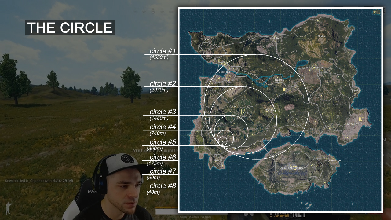 PUBG 101  Map  Circle Mechanics  and Red Zones   PUBG net