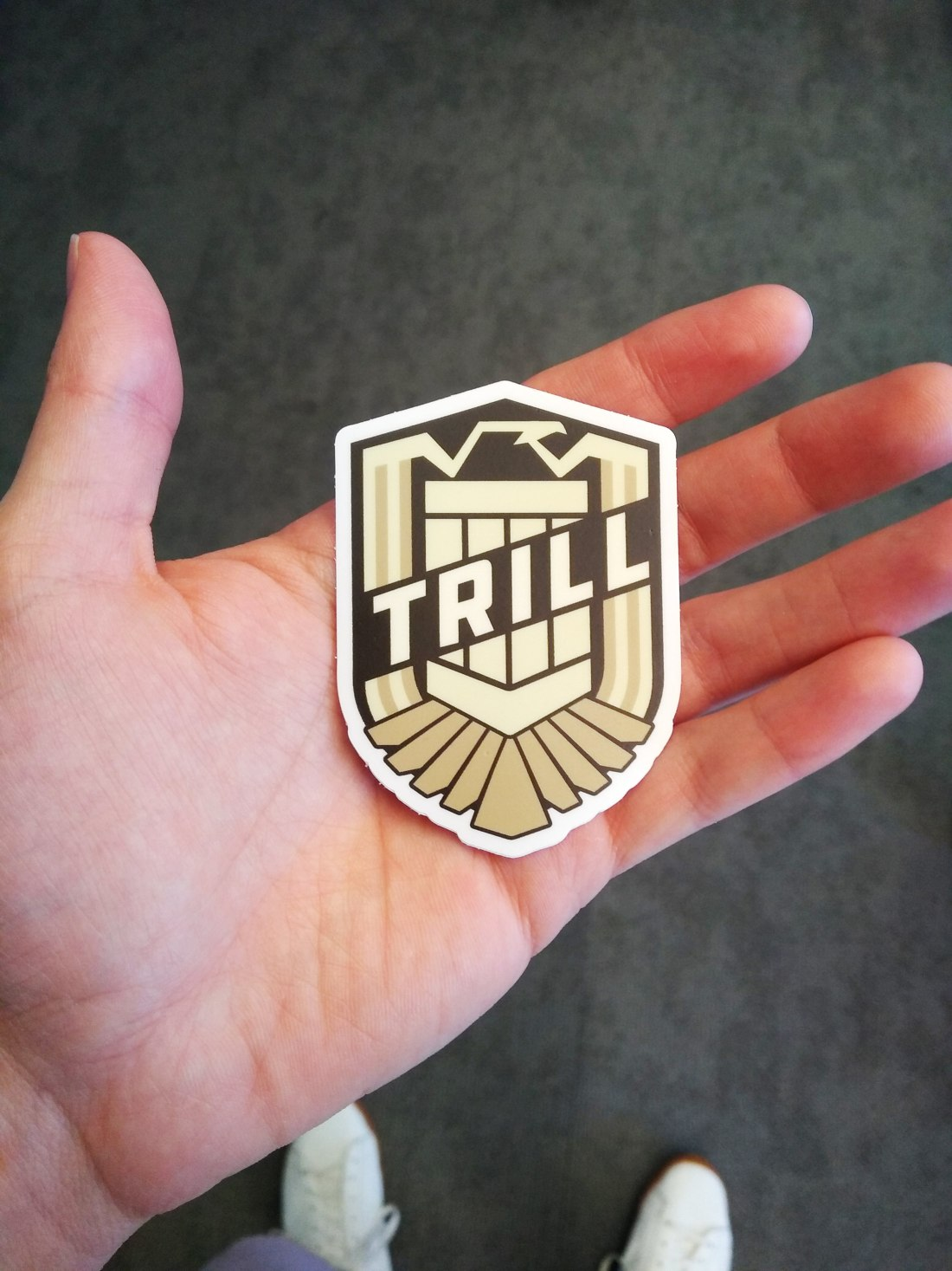 Team Sticker Design License to Trill