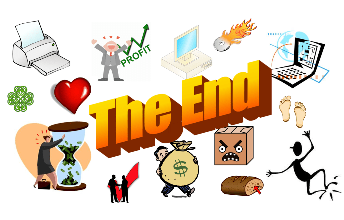 A Brief History of Clip Art End