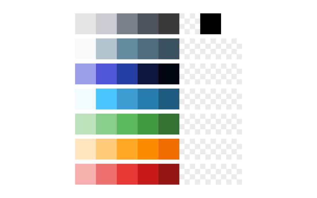 Sketch Color Palette Guide