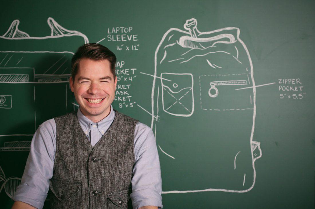 Jacob Hinmon Backpack Sketch