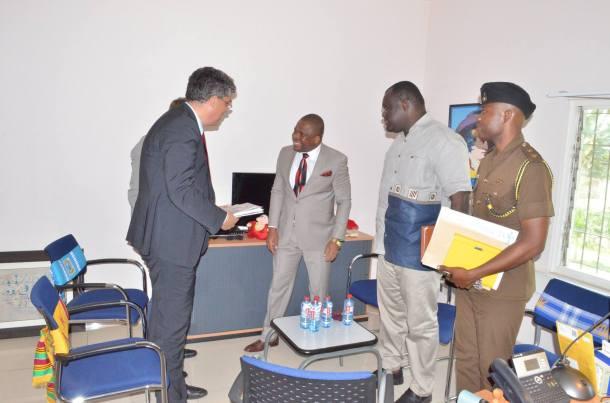 Meeting with German Ambassador