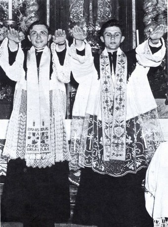 Ratzinger Brothers Ordination