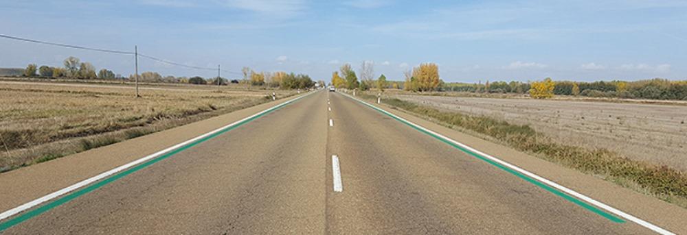 Las líneas verdes de la DGT