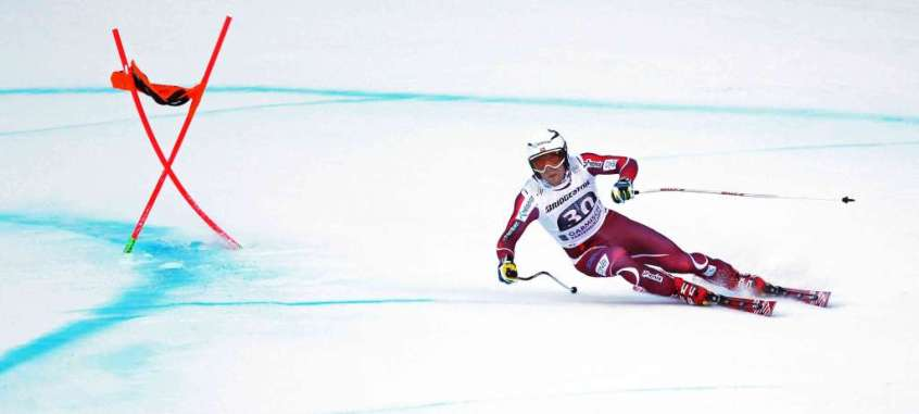 GARMISCH-PARTENKIRCHEN,GERMANY,30.JAN.16 - ALPINE SKIING - FIS World Cup, downhill, men. Image shows Aleksander Aamodt Kilde (NOR). Photo: GEPA pictures/ Thomas Bachun