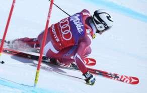 SANKT MORITZ,SWITZERLAND,17.MAR.16 - ALPINE SKIING - FIS World Cup Final, Super G, men. Image shows Aleksander Aamodt Kilde (NOR). Photo: GEPA pictures/ Harald Steiner