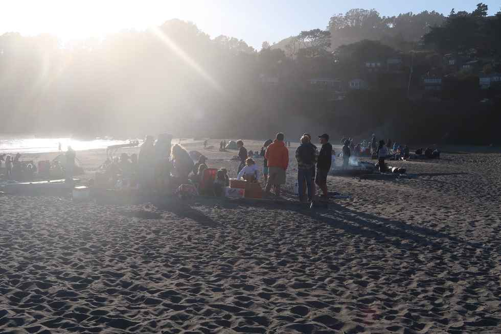 Muir Beach Lagerfeuer