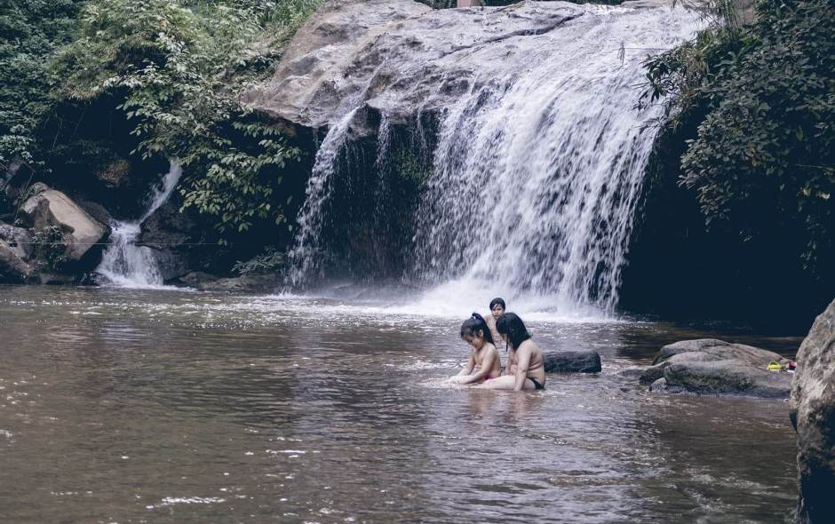 Ausflug zum Mae Sa Wasserfall in Chiang Mai