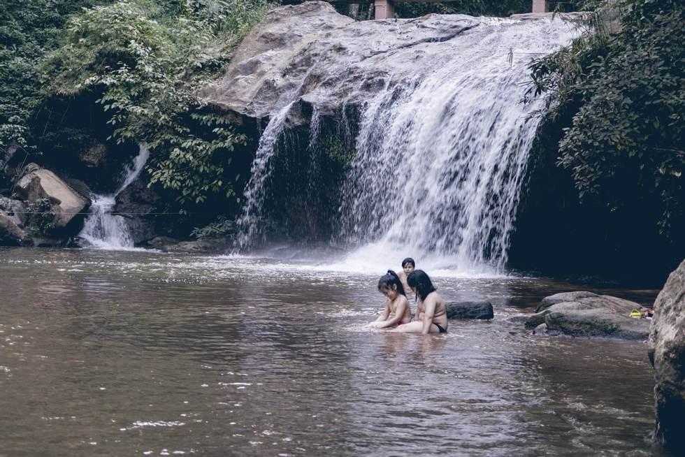 Mae Sa Wasserfall
