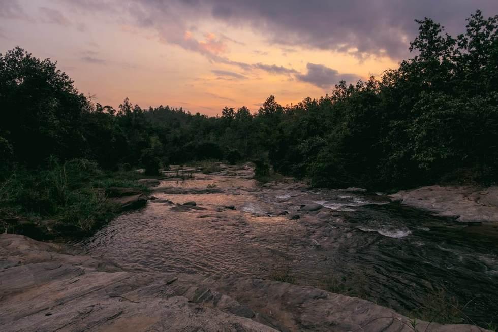 Fluss im Doi Inthanon National Park