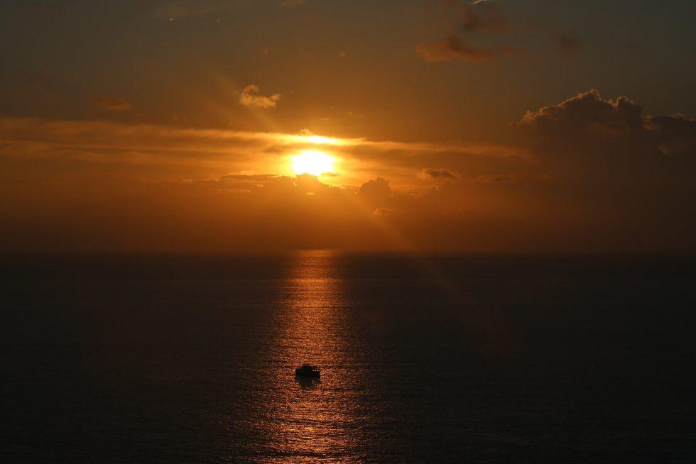 Sonnenuntergang am Promthep Viewpoint