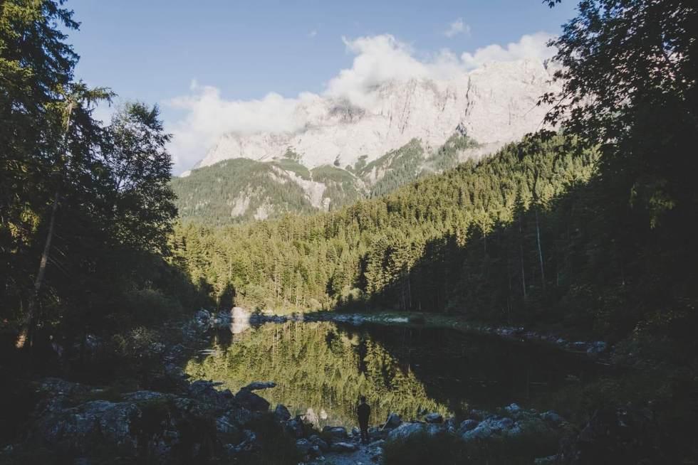 Zugspitze Seespiegelung