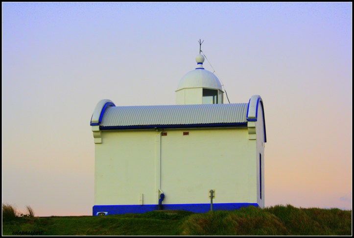 Lighthouse and the scary night... Port Macquarie