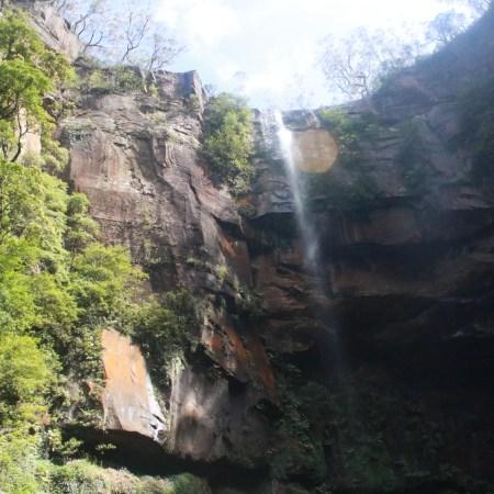 Belmore falls - hike to the bottom!