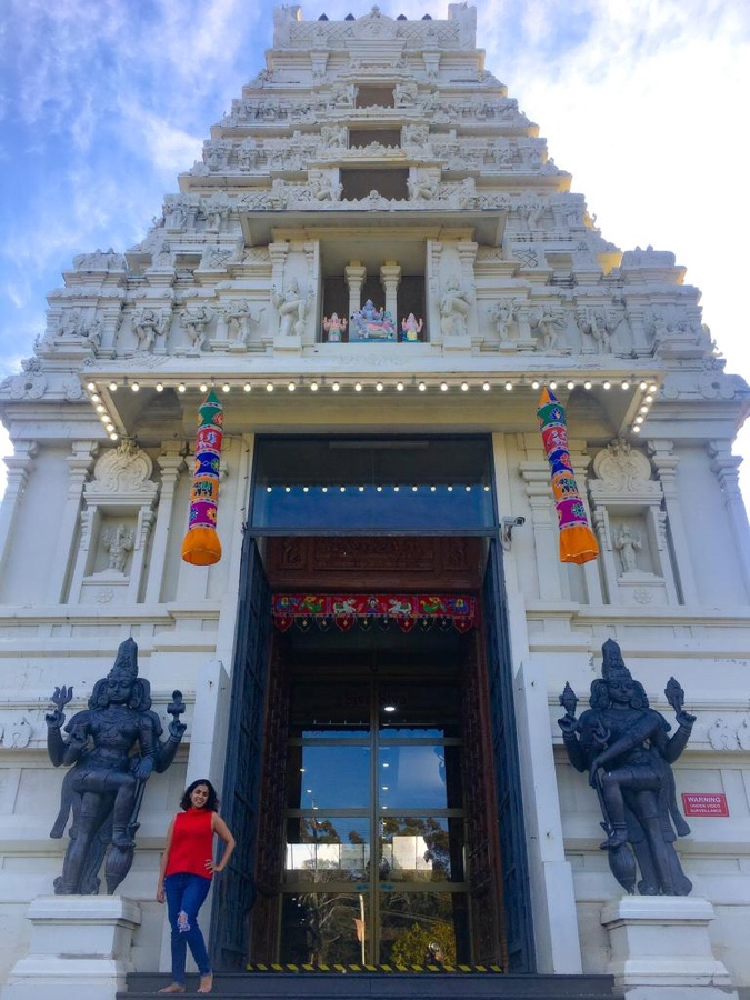 Helensburgh Temple entrance