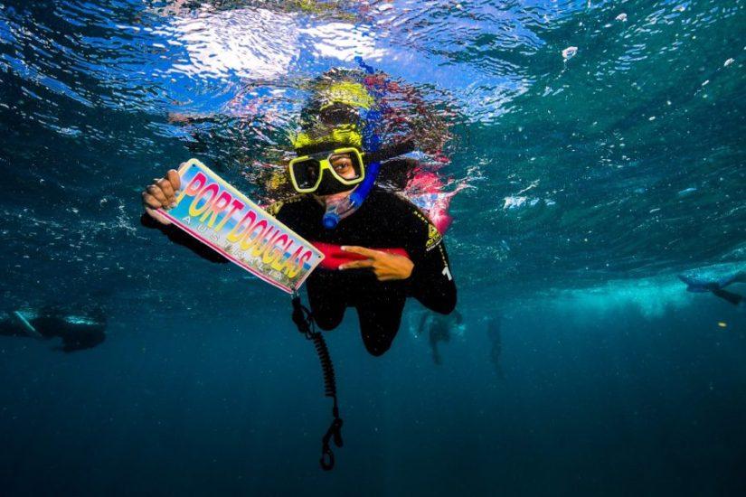 Scuba diving at Port Douglas