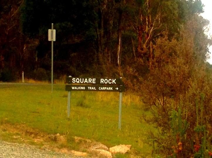 Square Rock Walking Trail Carpark