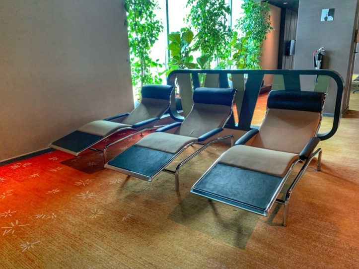 Review of Singapore Airlines & details of Singapore lounge