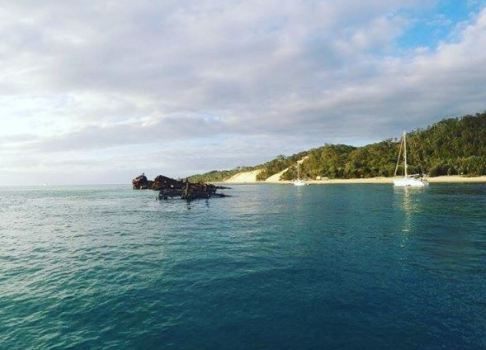 Diving at Tangalooma wreck