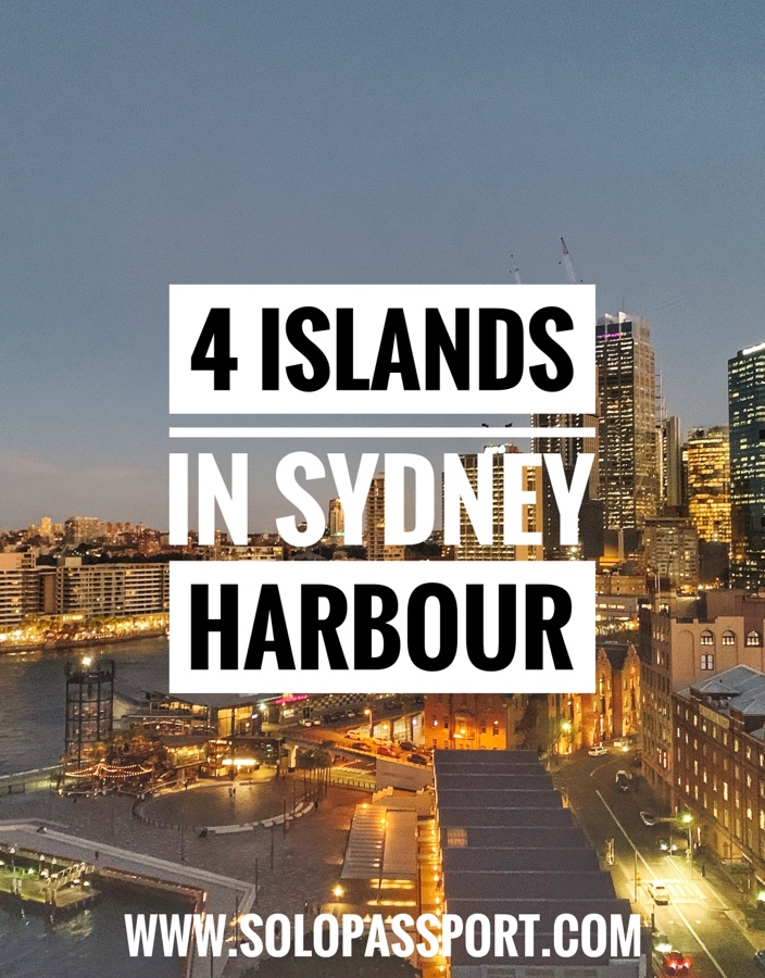 4 Islands in Sydney Harbour