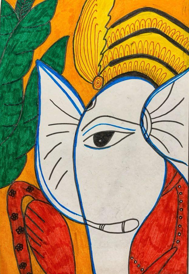 Pattachitra painting