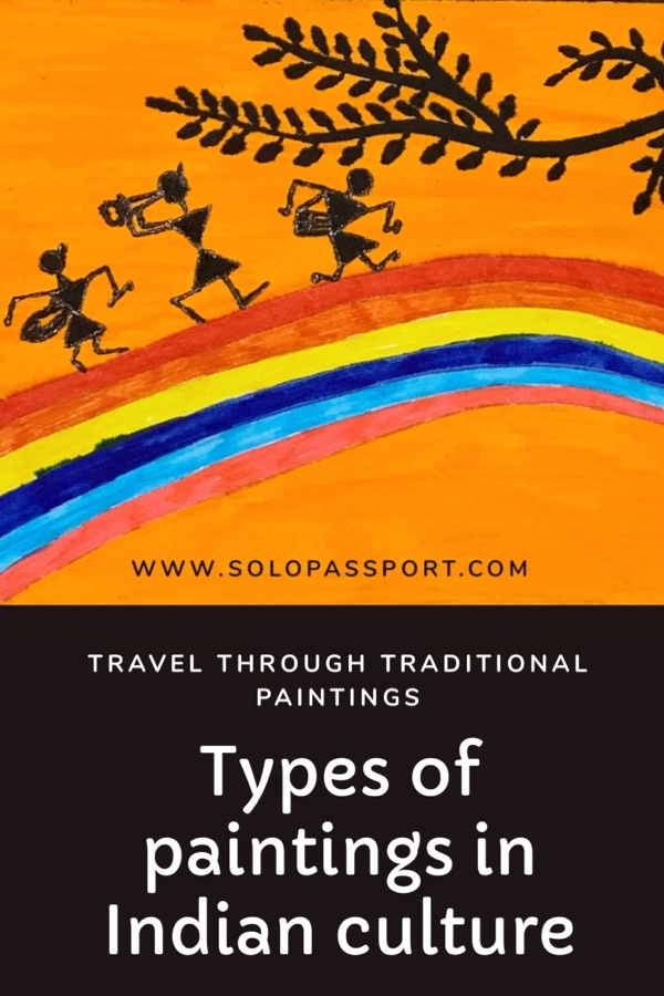 Types of traditional paintings in Indian culture