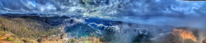 Hanging Rock & Baltzer Lookout (Blue Mountains)