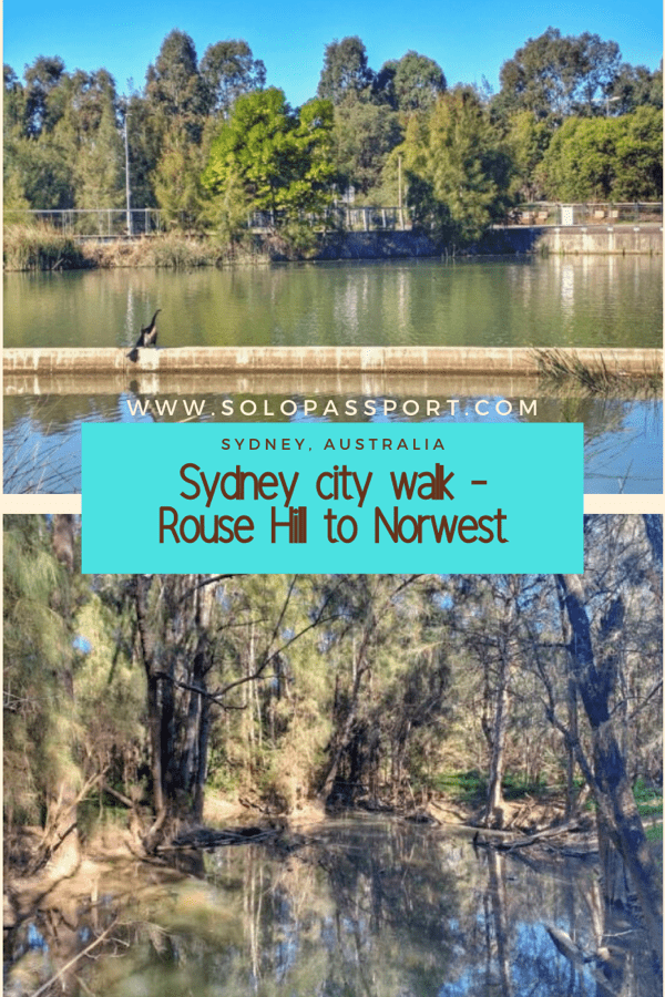 Rouse Hill to Norwest walking trail (Sydney)