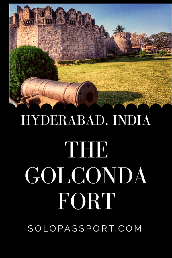 The Golconda Fort (Hyderabad)