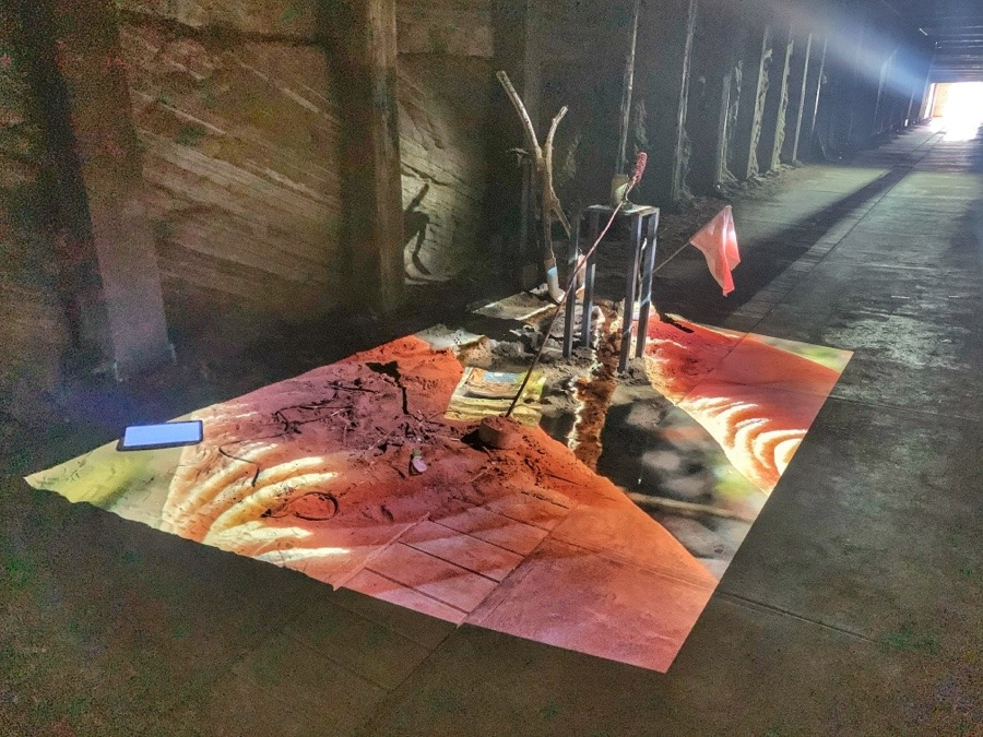 Art Installations of Laure Prouvost at Cockatoo Island