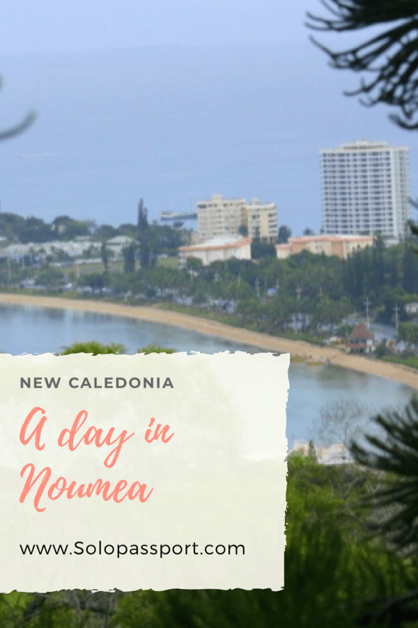 PIN for later reference - A day in Noumea