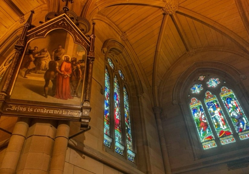Structure of St Mary's Cathedral | Sydney