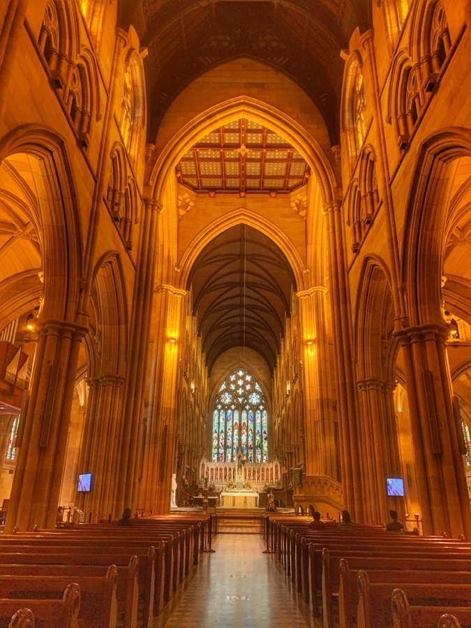 Interiors of St Mary's Cathedral | Sydney