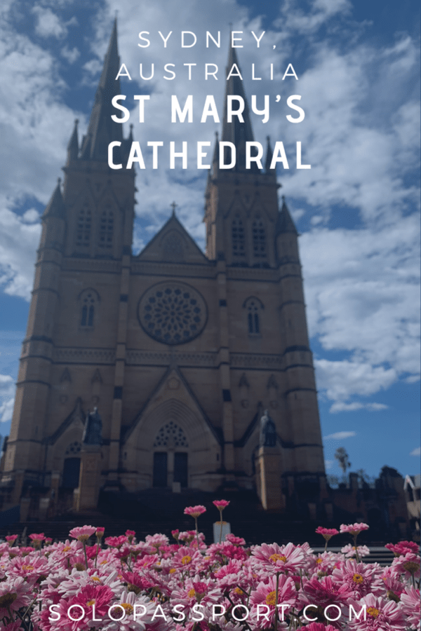 PIN for later reference - St Mary's Cathedral | Sydney