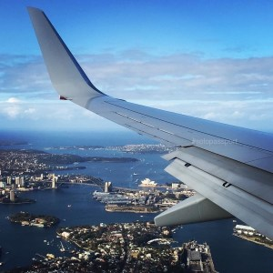 Sydney bird eye view