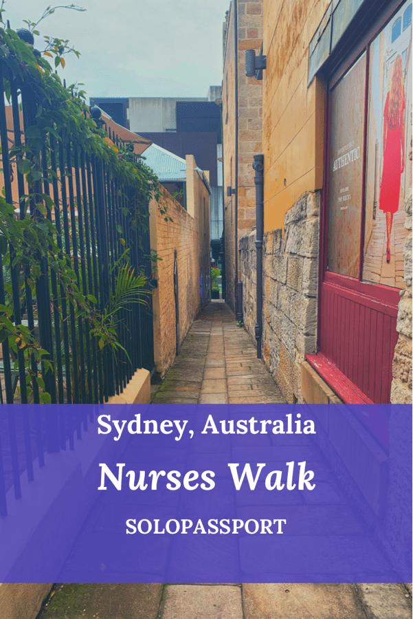 PIN for later reference - Nurses Walk in Sydney