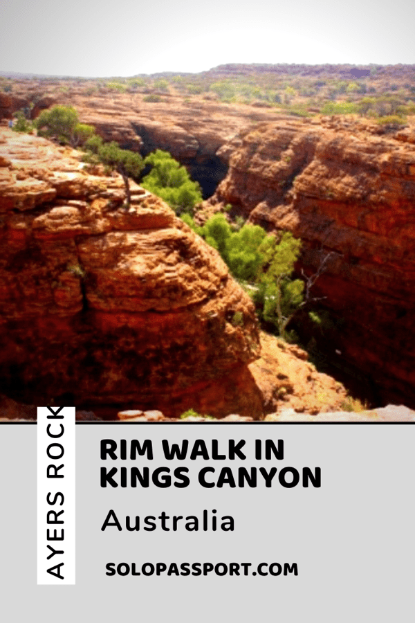PIN for later reference - RIM Walk in Kings Canyon